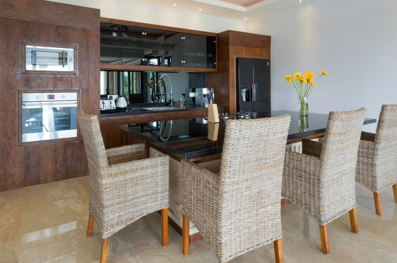 Kitchen and Dining Area - Villa Luwih - Canggu, Bali