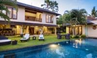 Pool Side Seating Area - Villa M - Seminyak, Bali