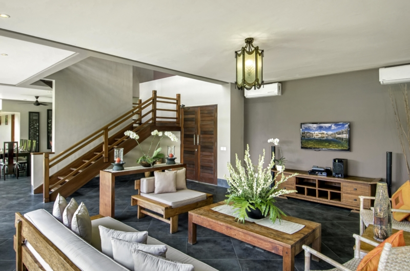 Living Area with Up Stairs - Villa M - Seminyak, Bali