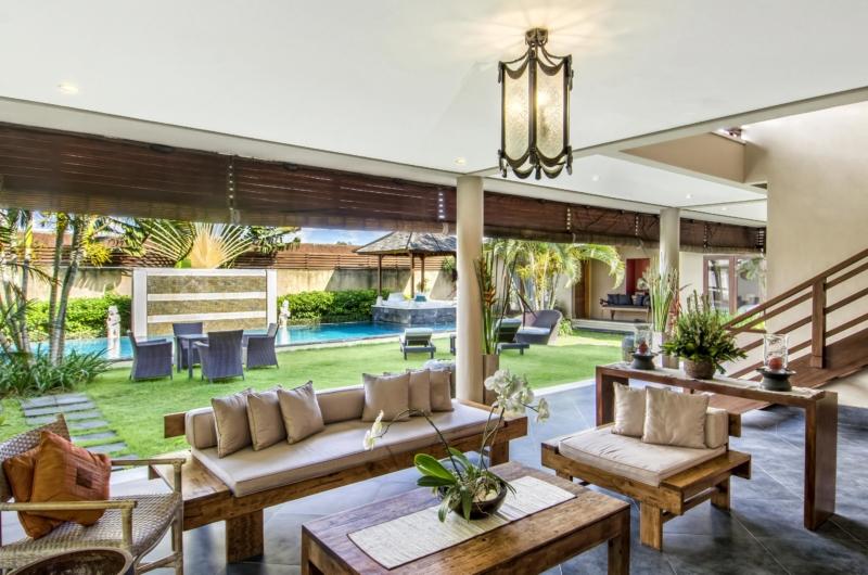 Living Area with Garden View - Villa M - Seminyak, Bali