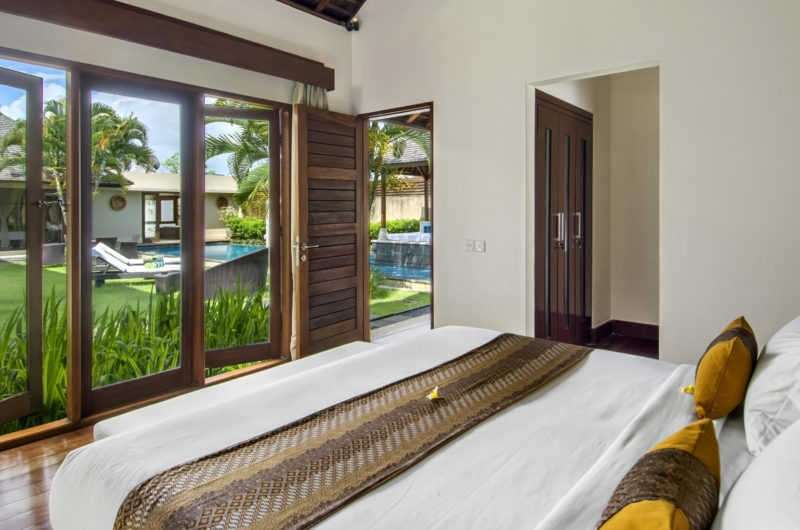 Bedroom with Wooden Floor - Villa M - Seminyak, Bali