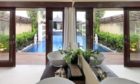 Bathroom with Pool View - Villa M - Seminyak, Bali