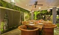 Dining Area - Villa Mahkota - Seminyak, Bali