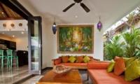 Lounge Area - Villa Mahkota - Seminyak, Bali