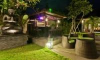Outdoor Seating Area - Villa Mahkota - Seminyak, Bali