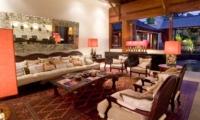Living Area at Night - Villa Mako - Canggu, Bali