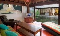 Lounge Area with View - Villa Mako - Canggu, Bali