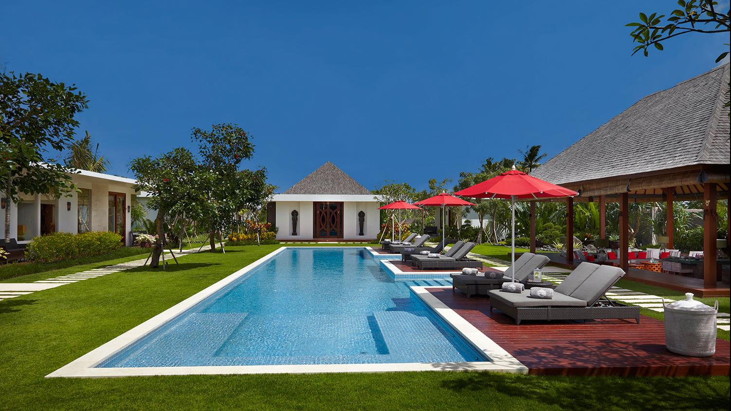 Private Pool - Villa Malaathina - Umalas, Bali