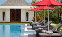 Pool Side Loungers - Villa Malaathina - Umalas, Bali