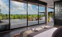 Bedroom with View - Villa Mana - Canggu, Bali