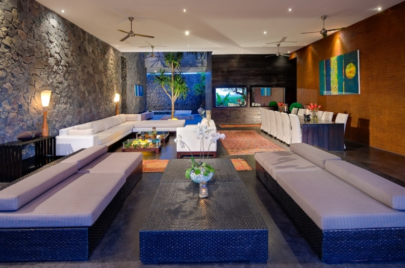Living and Dining Area - Villa Mana - Canggu, Bali
