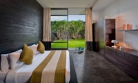 Bedroom with Garden View - Villa Mana - Canggu, Bali