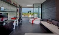 Lounge Area with TV - Villa Mana - Canggu, Bali