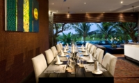 Indoor Dining Area - Villa Mana - Canggu, Bali