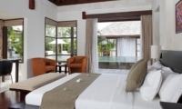 Bedroom with Pool View - Villa Mandalay - Seseh, Bali