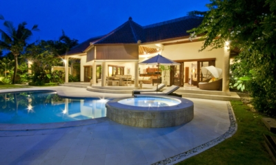 Swimming Pool at Night - Villa Mango - Seminyak, Bali