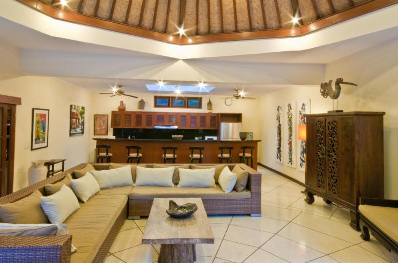 Indoor Living Area - Villa Mango - Seminyak, Bali