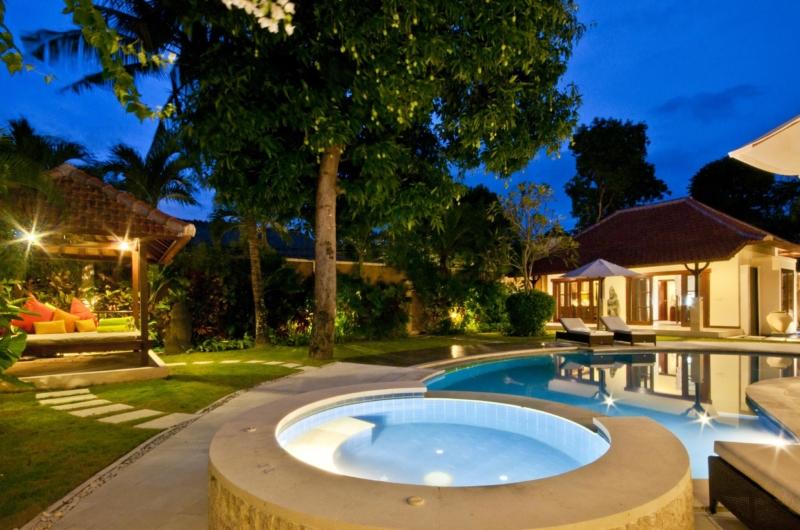 Pool Bale at Night - Villa Mango - Seminyak, Bali