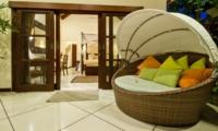 Outdoor Seating Area - Villa Mango - Seminyak, Bali
