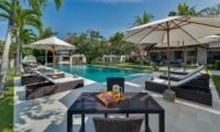 Pool Side Loungers - Villa Manis - Pererenan, Bali