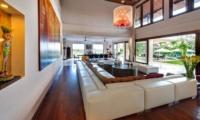Living Area with Pool View - Villa Manis - Pererenan, Bali