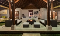 Living Area at Night - Villa Manis - Pererenan, Bali