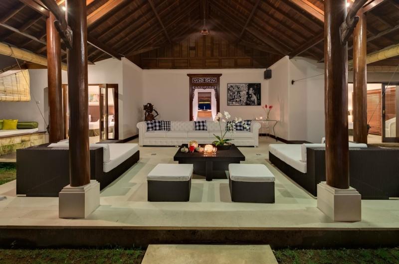 Living Area at Night - Villa Manis - Pererenan, Bali