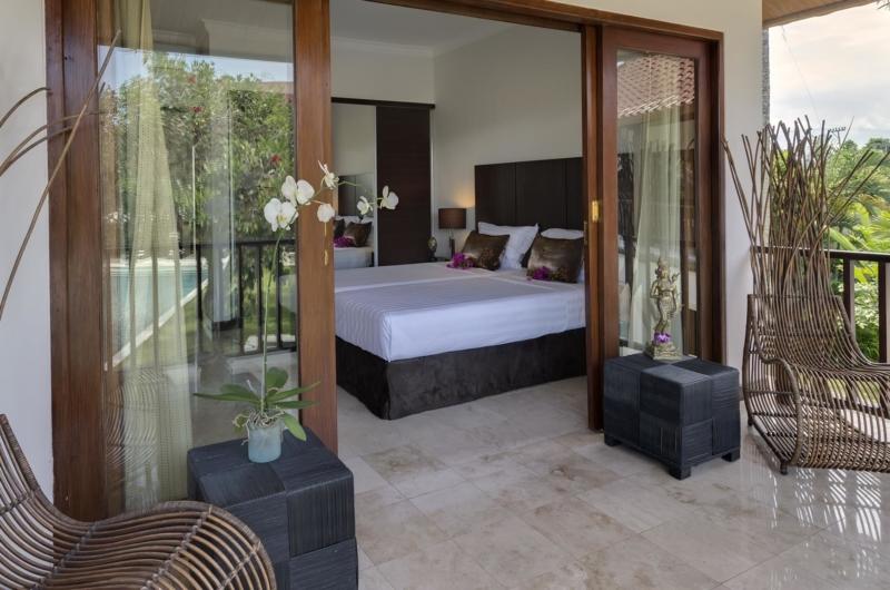 Twin Bedroom View - Villa Manis - Pererenan, Bali