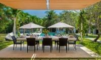 Outdoor Dining - Villa Manis - Pererenan, Bali
