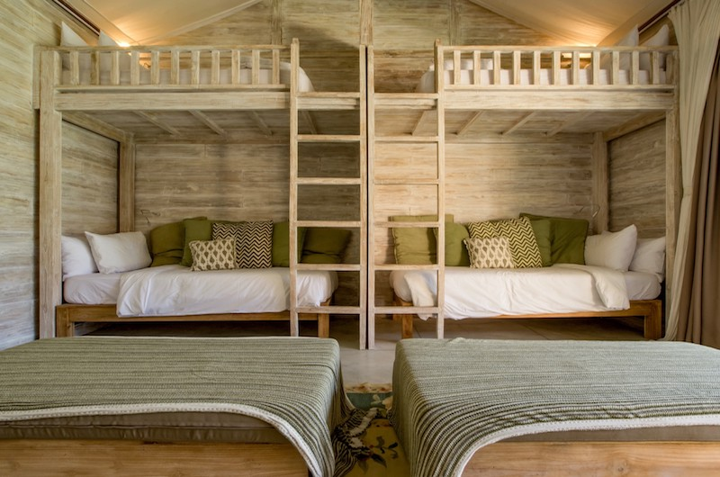 Bedroom with Bunk Beds - Villa Mannao - Kerobokan, Bali