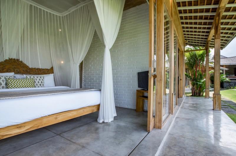 Bedroom and Balcony - Villa Mannao Estate - Kerobokan, Bali