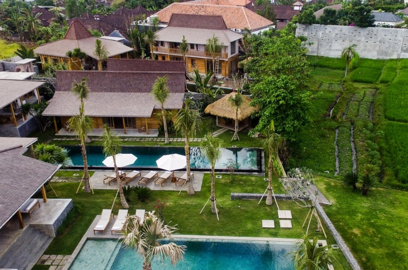 Bird's Eye View - Villa Mannao - Kerobokan, Bali