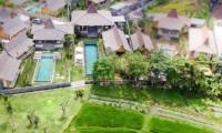 Bird's Eye View - Villa Mannao Estate - Kerobokan, Bali