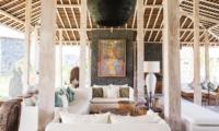 Living Area with View - Villa Mannao Estate - Kerobokan, Bali