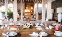 Dining Area - Villa Mannao Estate - Kerobokan, Bali