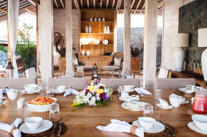 Dining Area - Villa Mannao - Kerobokan, Bali