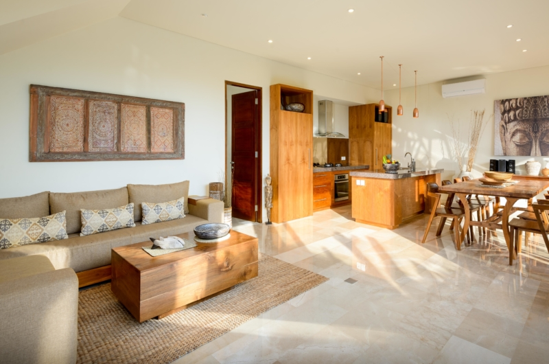 Living and Dining Area - Villa Maria - Legian, Bali