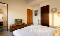 Spacious Bedroom with TV - Villa Maria - Legian, Bali