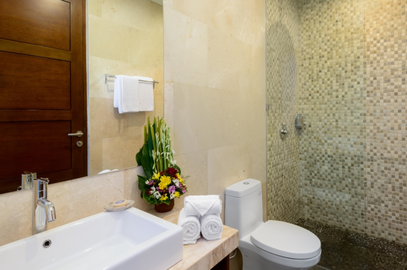 Bathroom with Shower - Villa Maria - Legian, Bali