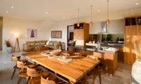 Living, Kitchen and Dining Area - Villa Maria - Legian, Bali