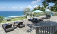 Reclining Sun Loungers - Villa Markisa - Ungasan, Bali