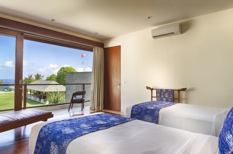 Twin Bedroom with Sea View - Villa Markisa - Ungasan, Bali