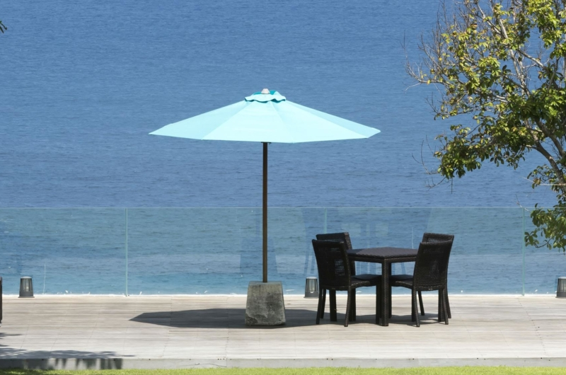 Outdoor Area with Sea View - Villa Markisa - Ungasan, Bali