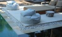Reclining Sun Loungers - Villa Martine - Seminyak, Bali