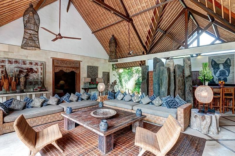 Living Area - Villa Massilia - Seminyak, Bali