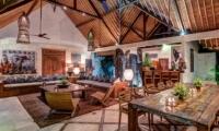 Living and Dining Area - Villa Massilia - Seminyak, Bali