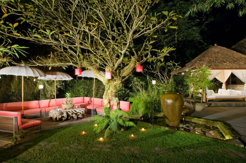 Night View - Villa Maya Retreat - Tabanan, Bali