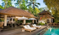Reclining Sun Loungers - Villa Maya Retreat - Tabanan, Bali