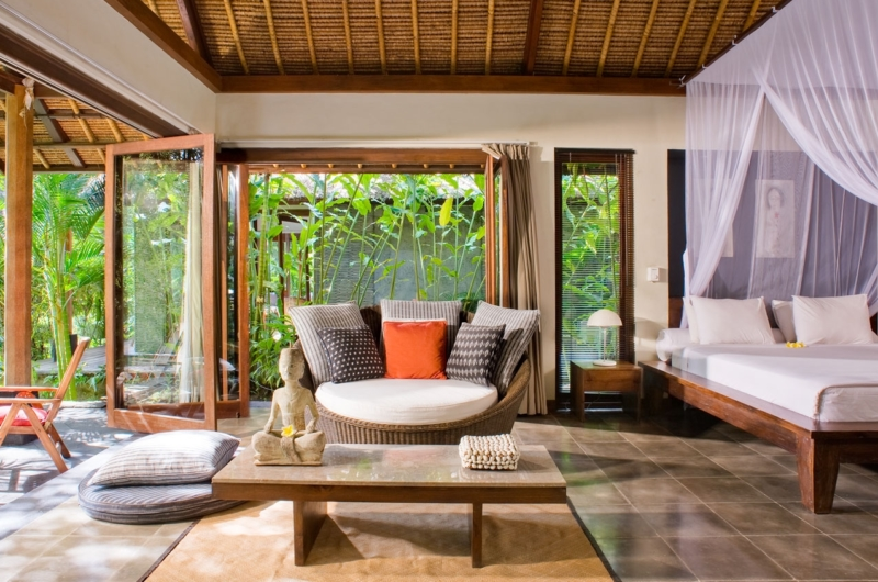 Bedroom with Seating Area - Villa Maya Retreat - Tabanan, Bali
