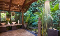 En-Suite Bathroom with Shower - Villa Maya Retreat - Tabanan, Bali